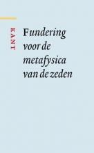 Immanuel Kant , Fundering voor de metafysica van de zeden