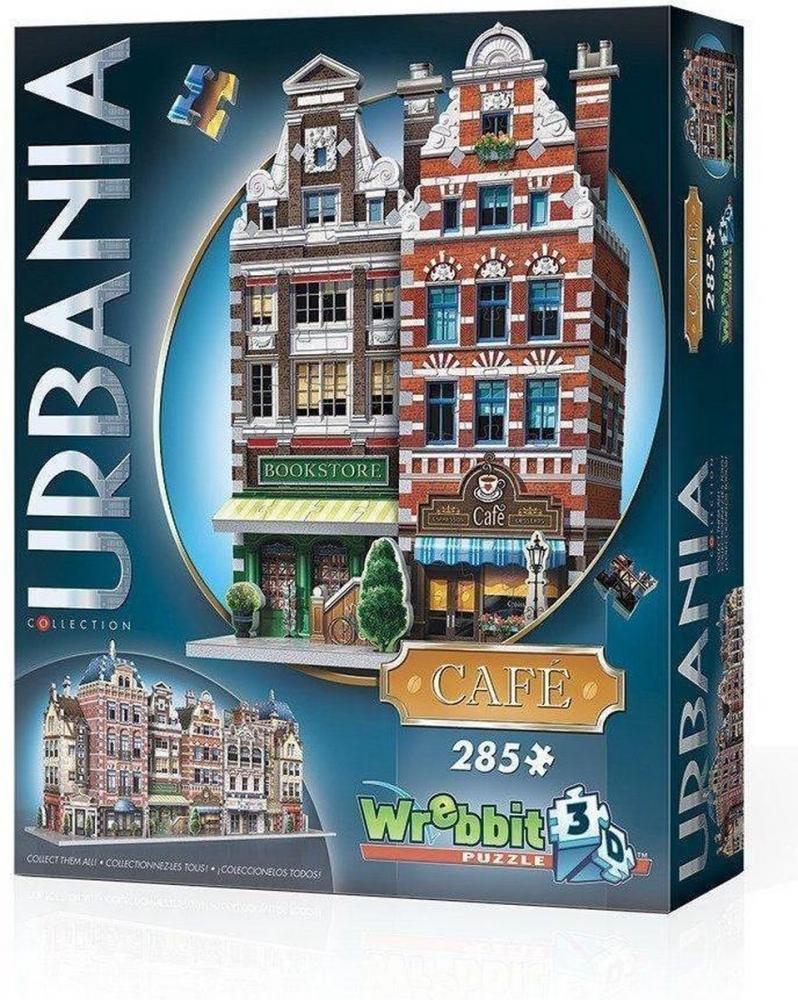 W3d-0503,Puzzel 3d - urbania cafe - wrebbit-  285 stuks