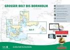 , Sportbootkarten Satz 4: Gro?er Belt bis Bornholm (Ausgabe 2019)