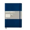 <b>Lt349300</b>,Leuchtturm notitieboek compostion softcover 178x254 mm lijn navyblauw
