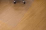 , vloermat Kangaro harde vloer 120 x 240cm pc-recyclaat       transparant pet 1,8mm