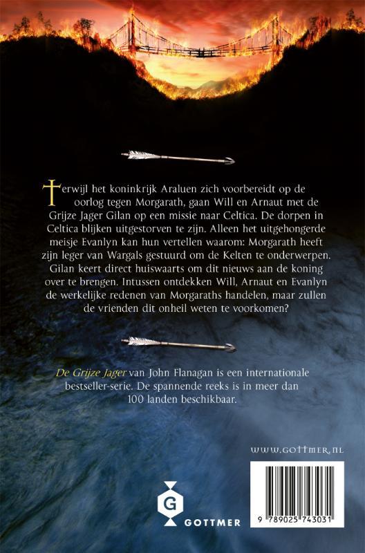 John Flanagan,De brandende brug