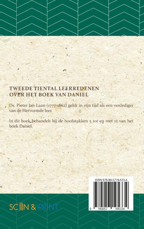 Pieter Jan Laan,Leerredenen over het Boek van Daniel