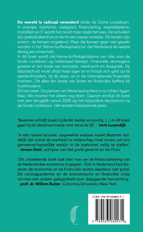 Dirk Bezemer,Een land van kleine buffers