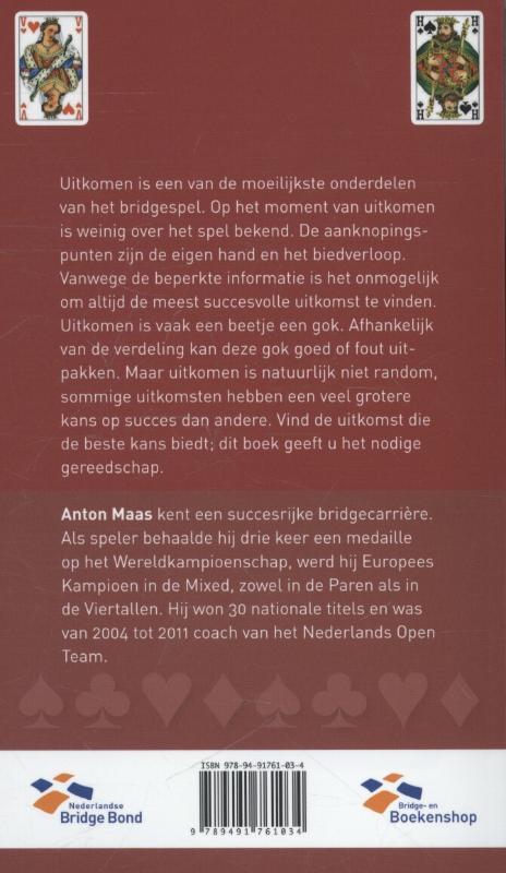 Anton Maas,Uitkomen