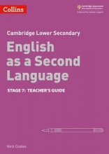 Collins Uk Collins Cambridge Checkpoint English as a Second Language - Cambridge Checkpoint English as a Second Language Teacher Guide Stage 7