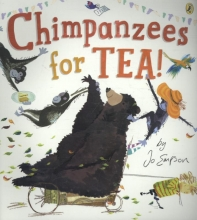 Jo Empson Chimpanzees for Tea!