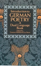 Mathieu, Gustave Introduction to German Poetry