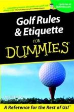 Steinbreder, John Golf Rules and Etiquette For Dummies