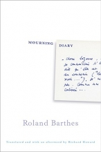 Barthes, Roland Mourning Diary