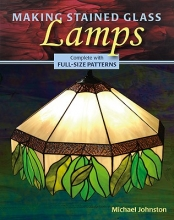 Michael Johnston Making Stained Glass Lamps
