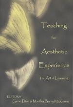 Gene Diaz,   Martha Barry Mckenna Teaching for the Aesthetic Experience
