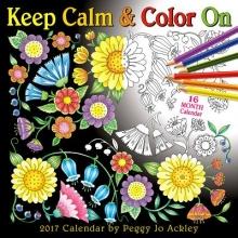 Ackley, Peggy Jo Cal 2017-Keep Calm & Color on