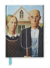 American Gothic by Grant Wood (Foiled Journal)
