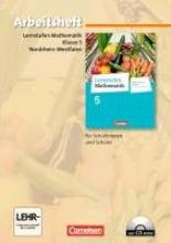 ,Lernstufen Mathematik 5. Schuljahr. Arbeitsheft mit eingelegten Lösungen und CD-ROM. Hauptschule Nordrhein-Westfalen