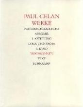 Celan, Paul Fadensonnen