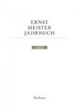 Ernst Meister Gesellschaft Jahrbuch 8. 2000/2001