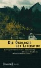 Hofer, Stefan Die Ökologie der Literatur