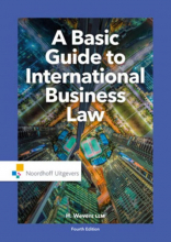 LLM H. Mr. Wevers, A basic guide to international business law