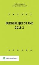 Tekstuitgave Burgerlijke stand 2018-2