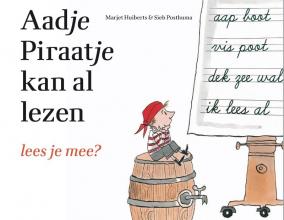 Marjet Huiberts , Aadje Piraatje kan al lezen