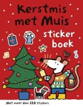 Lucy  Cousins Kerstmis met Muis - Stickerboek