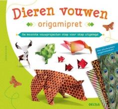 Didier  Boursin Origamipret dieren vouwen