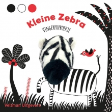 , Vingerpopboekje Kleine Zebra