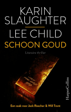 Lee Child Karin Slaughter, Schoon goud-pakket à 6 ex.
