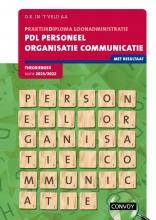 D.R. in `t Veld , PDL Personeel Organisatie Communicatie Theorieboek 2021-2022