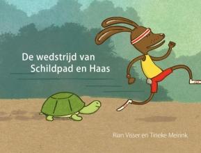 Rian  Visser, Tineke  Meirink De wedstrijd van Schildpad en Haas