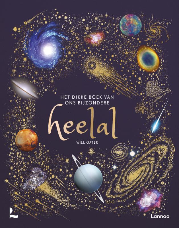 Will Gater,Het dikke boek van ons bijzondere heelal