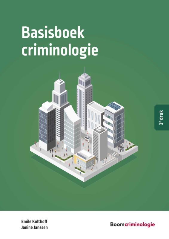 Emile Kolthoff,Basisboek criminologie