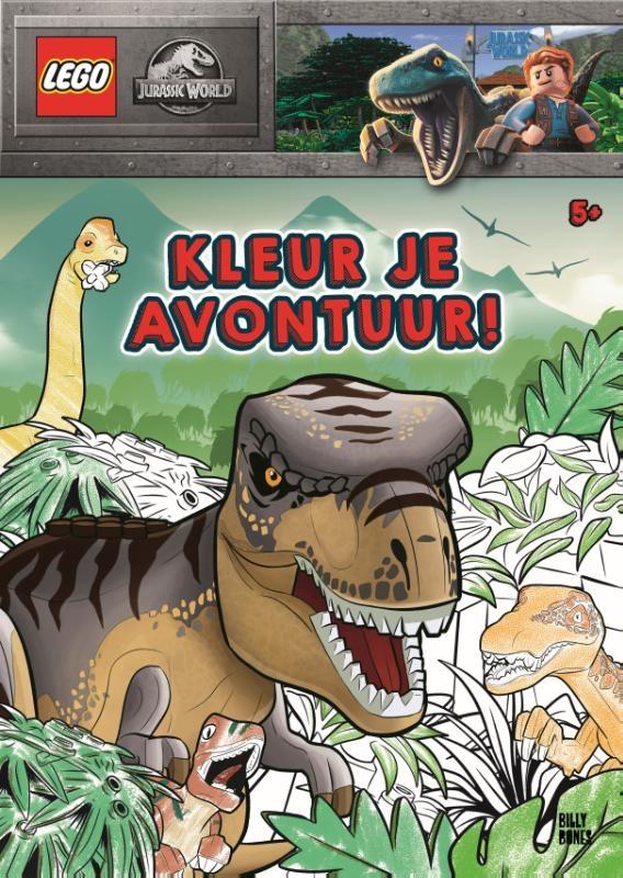 ,LEGO Jurassic World - Kleur je avontuur!