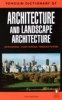 Fleming, John                 ,  Pevsner, Nikolaus             , Hugh Honour,The Penguin Dictionary of Architecture and Landscape Architecture