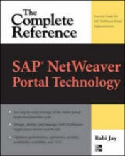 Jay, Rabi SAP NetWeaver Portal Technology
