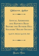 Author, Unknown Author, U: Annual Addresses and Reports Read Before the Bunk