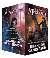 Brandon,Sanderson Mistborn Trilogy Boxed Set