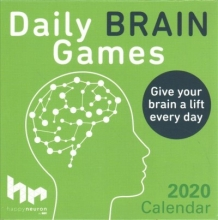 Happyneuron Daily Brain Games 2020 Day-to-Day Calendar