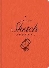 Sterling Publishing Company The Daily Sketch Journal (Red)