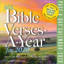 Workman Publishing 365 Bible Verses-A-Year Page-A-Day Calendar 2020