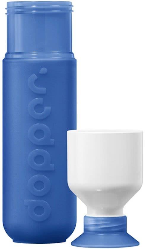 0840 doppercode,Dopper drinkfles donkerblauw pacific blue