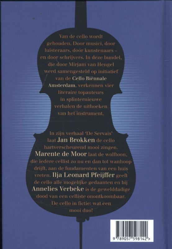 Ilja Leonard Pfeiffer, Marente de Moor, Jan Brokken, Annelies Verbeke,Vier variaties voor cello