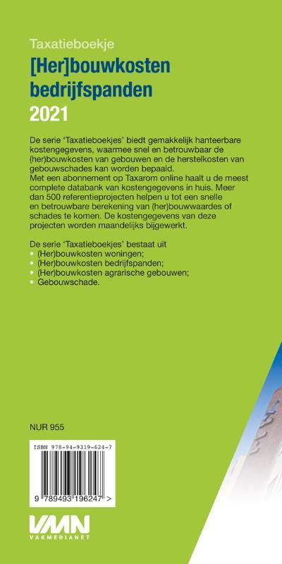 ,(Her)bouwkosten bedrijfspanden 2021