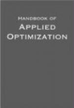 Panos M. Pardalos,   Mauricio G. C. (Principal Research Scientist, Principal Research Scientist, AT&T Laboratories, New Jersey) Resende Handbook of Applied Optimization