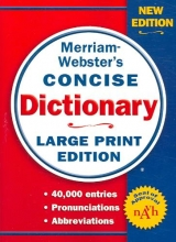 Merriam-Webster Merriam-Webster Concise Dictionary