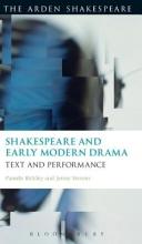 Bickley, Pamela,   Stevens, Jenny Shakespeare and Early Modern Drama