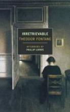 Fontane, Theodor Irretrievable