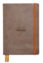 , Bullet Journal Rhodia A5 60vel dots taupe