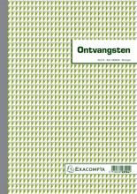 , Kasboek Manifold ontvangsten dupli 50vel
